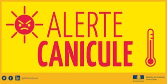 ALERTE CANICULE : VIGILANCE ORANGE