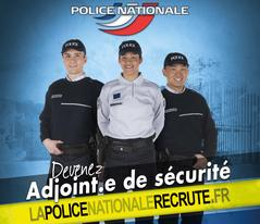 recrutement d adjoint de s curit dans la police nationale recrutement concours et stages. Black Bedroom Furniture Sets. Home Design Ideas