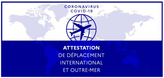 attestation déplacement international