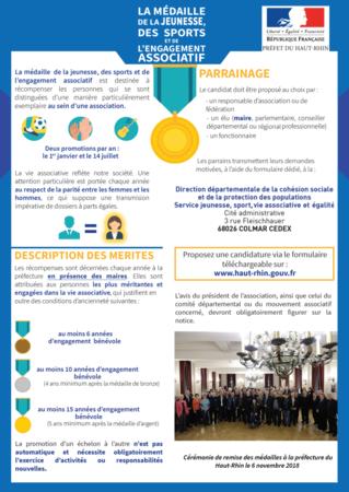 Medaille De La Jeunesse Des Sports Et De La Vie Associative